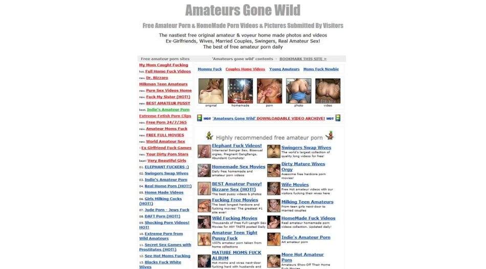best website for amateur porn